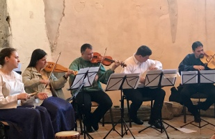 Codex Old Testament Ensemble played a selection of early Hungarian music.