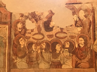 This rendering of the last supper is considered remarkable for its portraiture.